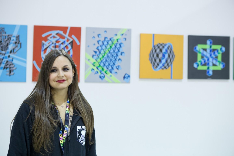 La curatrice Flaminia Valentini
