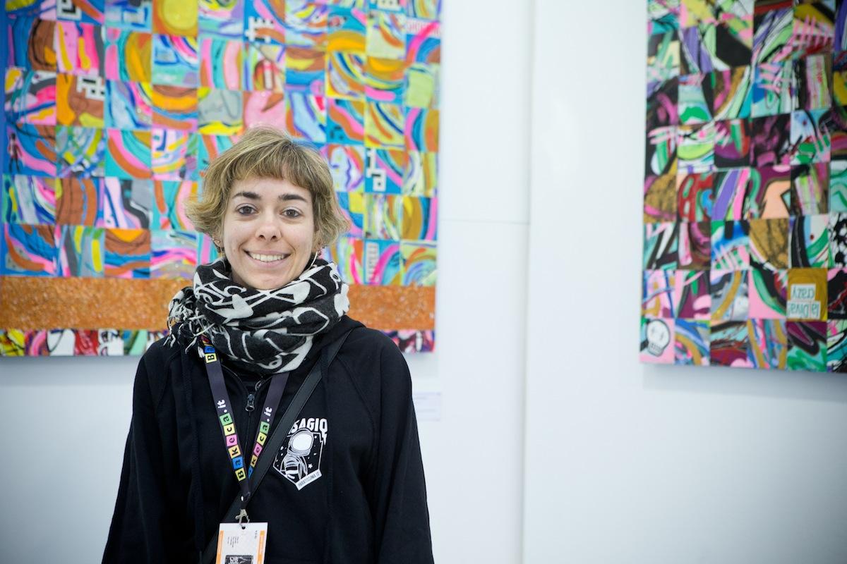 La curatrice Francesca Pich
