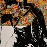 ROBERTO MITOLO_49_03, acrilico su tessuto giapponese, 2015, h102x64, G