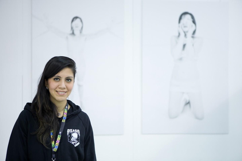 La curatrice Licia Marie Toccaceli
