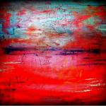 SOLE RODRIGUEZ_55_04, acrilico su tela, 2016, H70x100, D