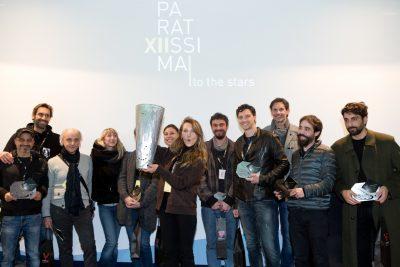 Il momento delle premiazioni di ParatissimaXII