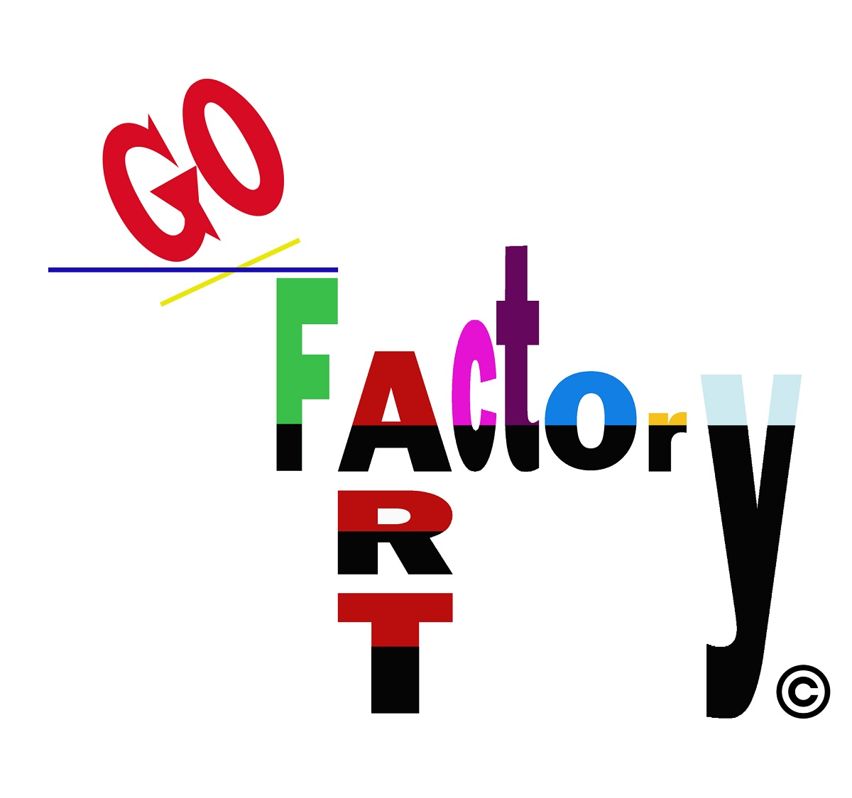 Logogo go art factory