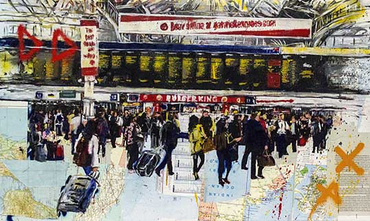 Ind.Art. - Andrea Sbra Perego - London, Victoria station