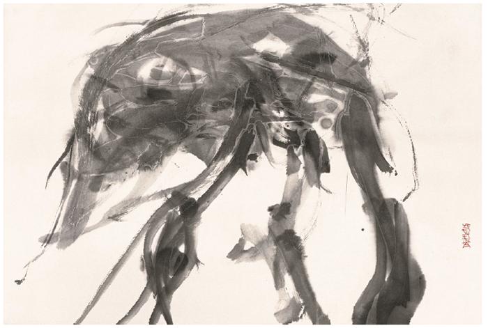 Transgression, 45cm×68cm, ink on paper, 2000 copia