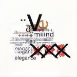 di blasio_elegance2_acrilico e collage su tela_80x80-min