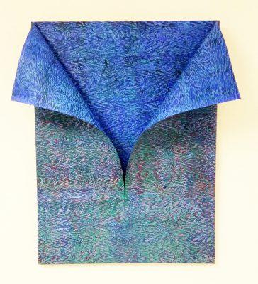 di fazio_Risvolto IV_acrilico su tela e carta Hahnemühle _80x60