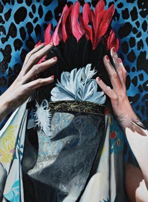 untitled, olio su tela, 50x70cm, 2019