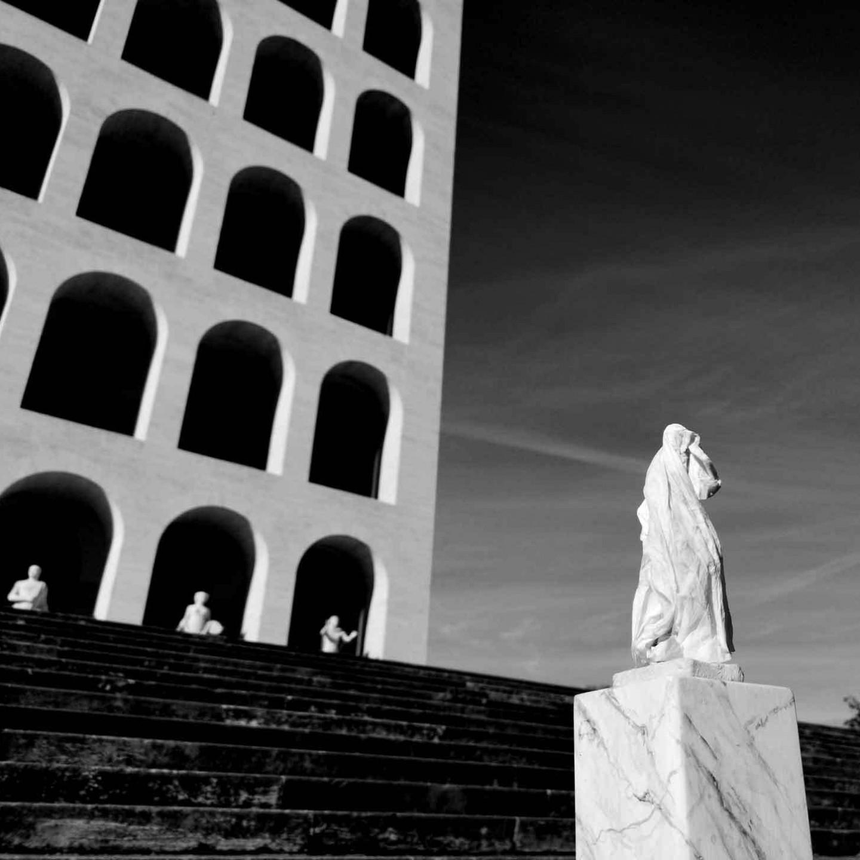 Fabio Bix, OAS Roma #01 BN, 2019