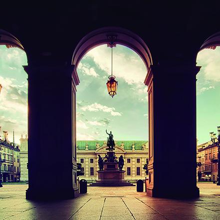 _Brigitte Schindler_Torino, portici Piazza Carlo Alberto