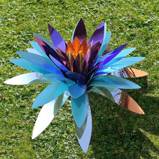 Chelita Riojas Zuckermann_Fiore di Cactus viola