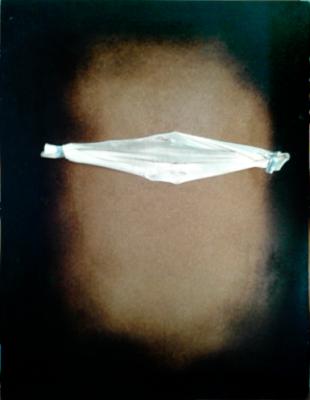 Polifemo di Cabri daniele, legno bruciato, 150x100 cm, 2015